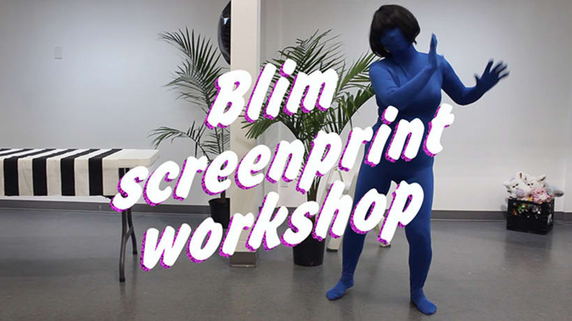 BLIM SCREENPRINT WORKSHOP 5