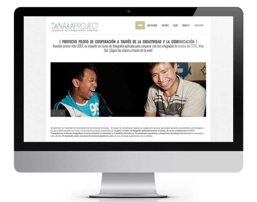 Co-Dirección de Tanaka Project. Curso de fotografía para desplazados birmanos.  1