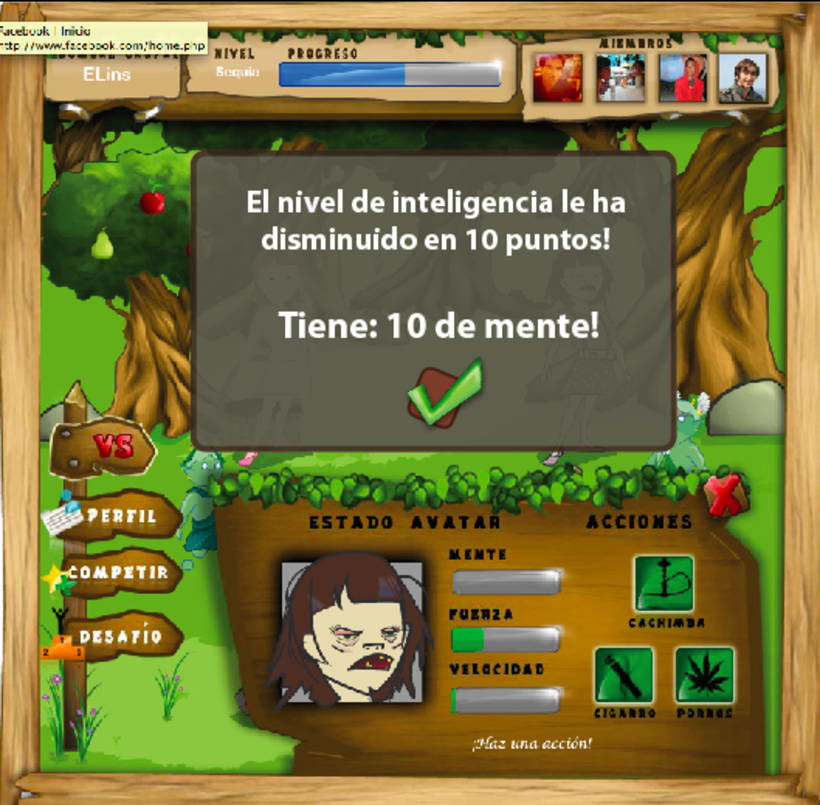 """Habitals """"Serious Game en contra del tabaquismo infantil"""" 3"""