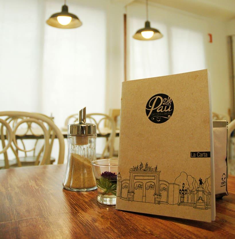 "Cafeteria-Libreria ""La Pau"" 8"