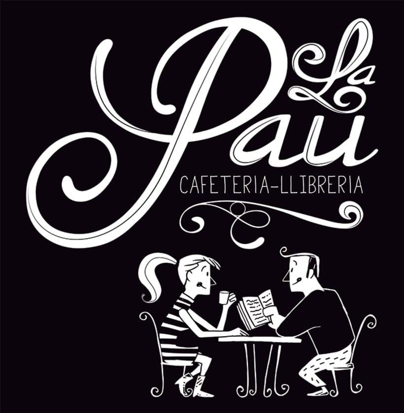 "Cafeteria-Libreria ""La Pau"" 10"