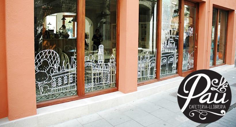 "Cafeteria-Libreria ""La Pau"" 6"