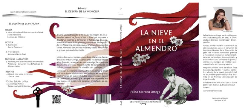 """""""La nieve en el almendro"""" de Felisa Moreno Ortega 1"""