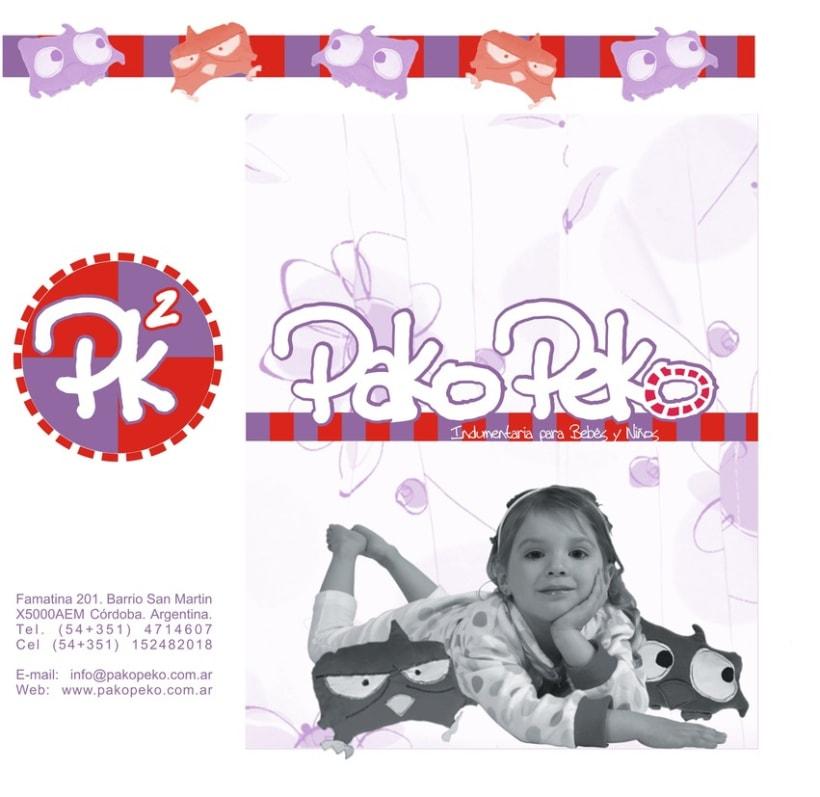 Pako Peko. Indumentaria para niños 3