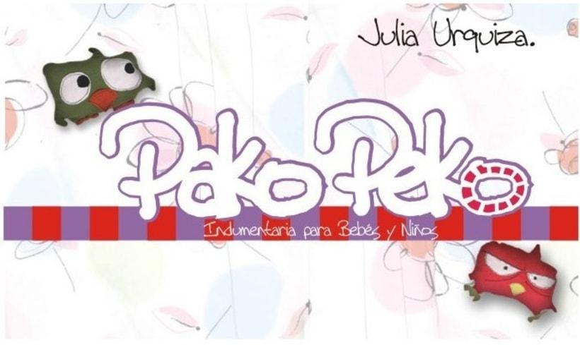 Pako Peko. Indumentaria para niños 11