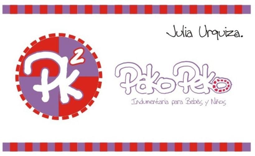 Pako Peko. Indumentaria para niños 12