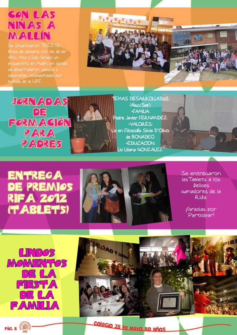 Revista Institucional Colegio 25 de Mayo. 0