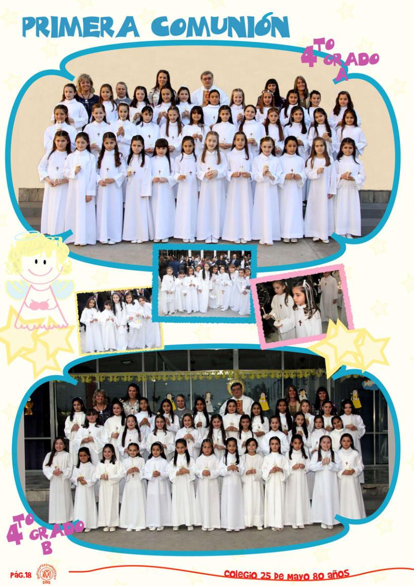 Revista Institucional Colegio 25 de Mayo. 1