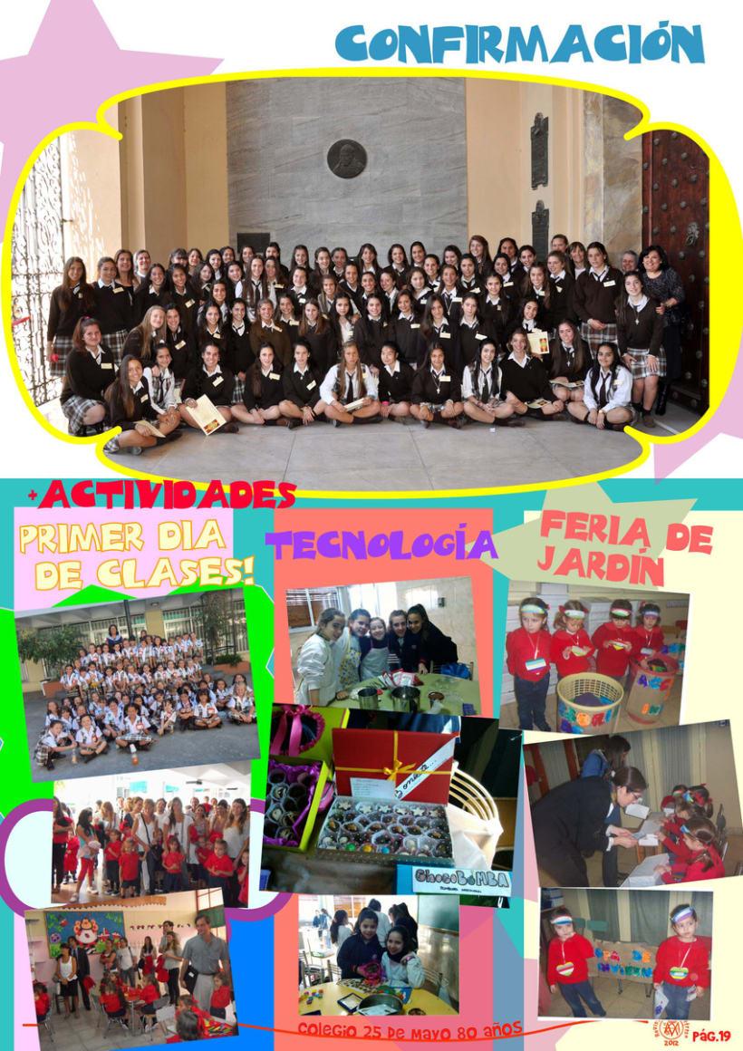 Revista Institucional Colegio 25 de Mayo. 2