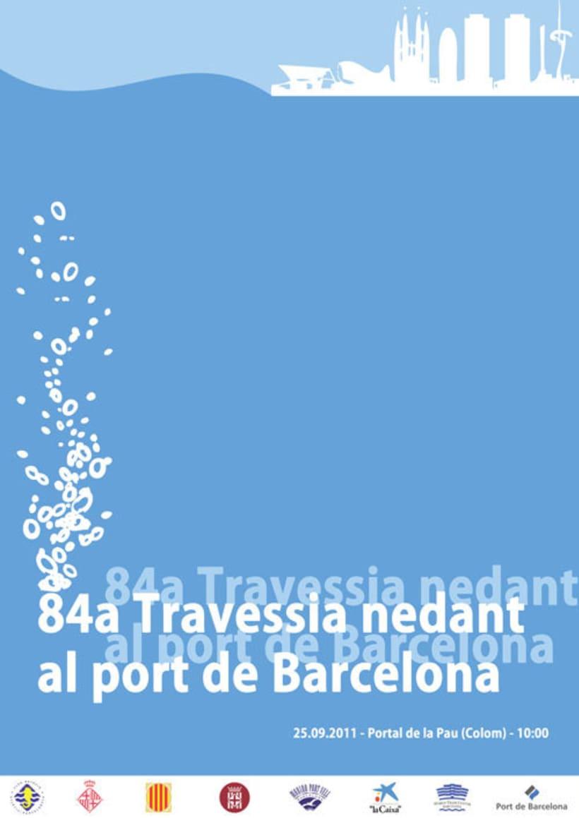 84ª Travessia nedant al Port de Barcelona -1