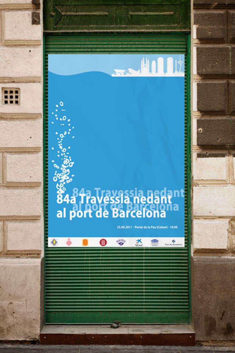 84ª Travessia nedant al Port de Barcelona 0