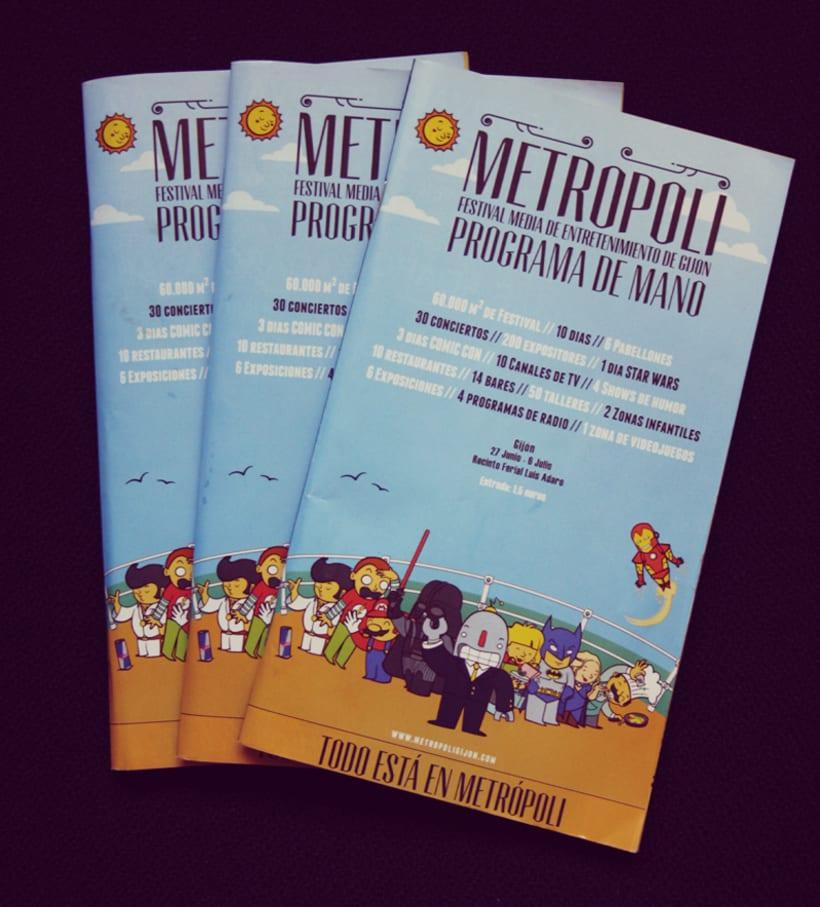 Metropoli Festival Media de Entretenimiento y Cultura 6