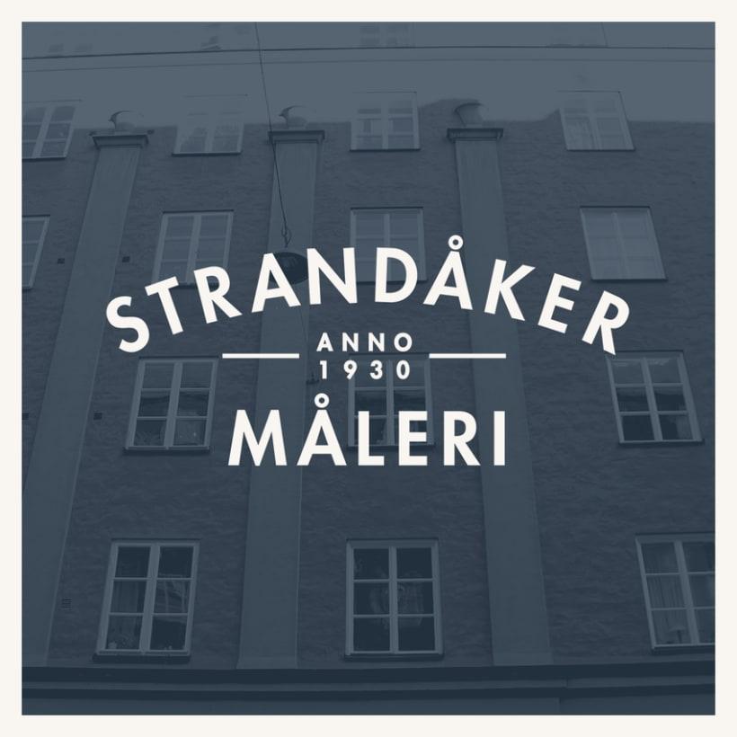 Logo para Strandåker Måleri 0