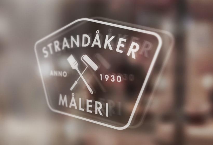 Logo para Strandåker Måleri 1