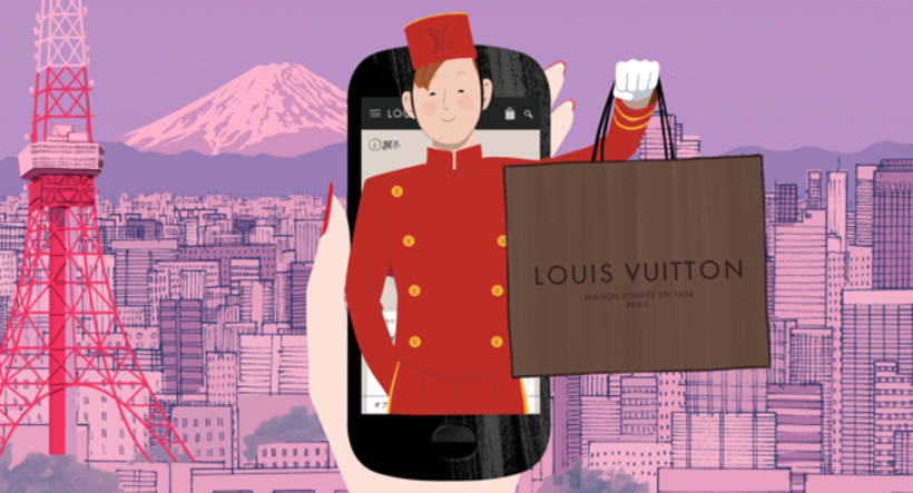 Louis Vuitton e-commerce / m-commerce campaign  22