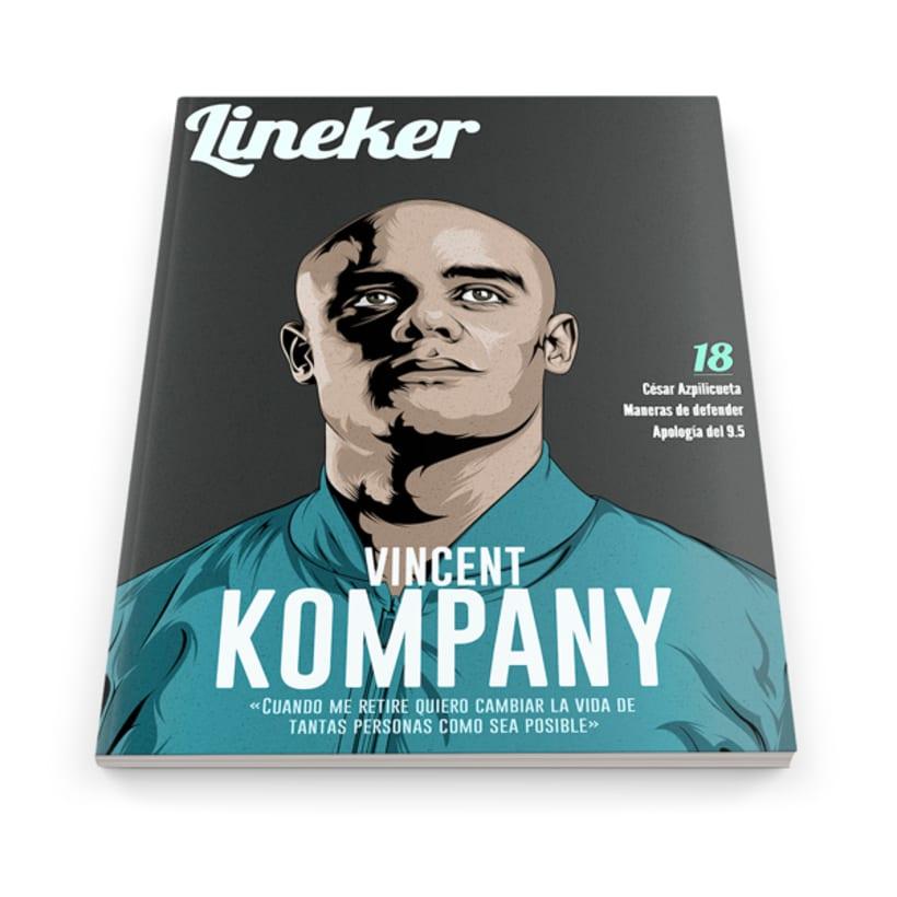 Cover Lineker Magazine #18 1