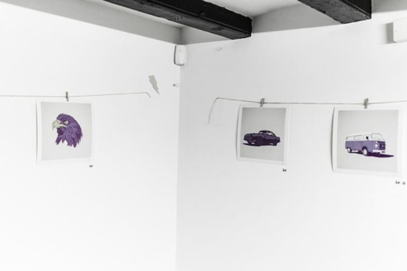 Violet Minds // Solo Exhibition 27