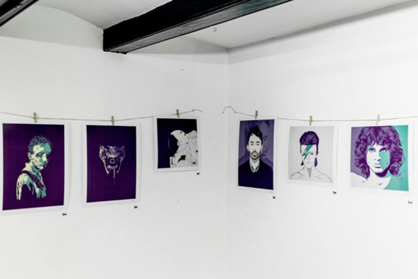 Violet Minds // Solo Exhibition 28