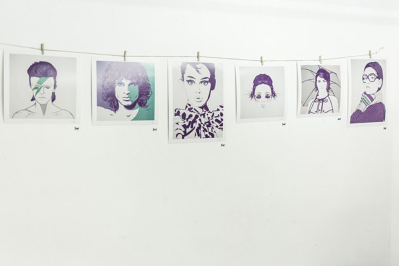 Violet Minds // Solo Exhibition 30
