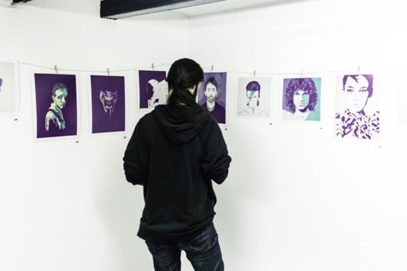 Violet Minds // Solo Exhibition 31