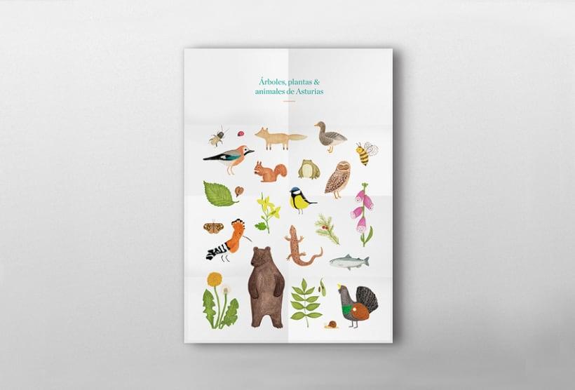 Árboles, plantas & animales de Asturias 11