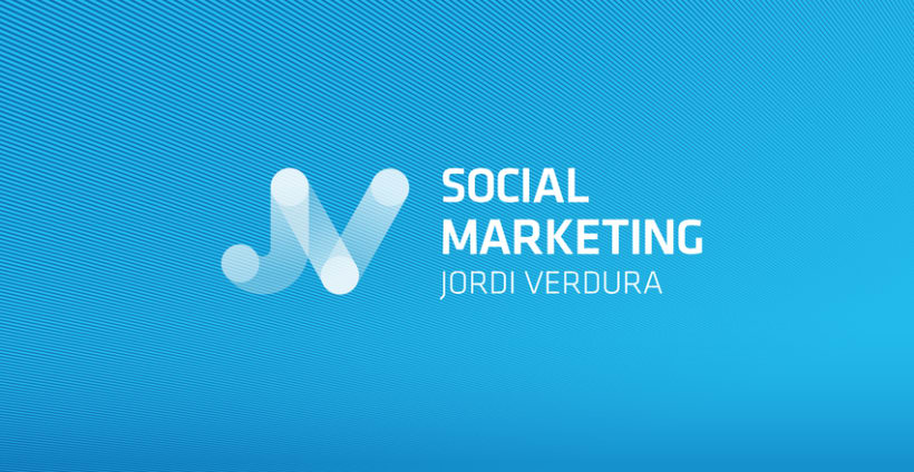 Social Marketing Jordi Verdura. Logotipo y identidad. 4