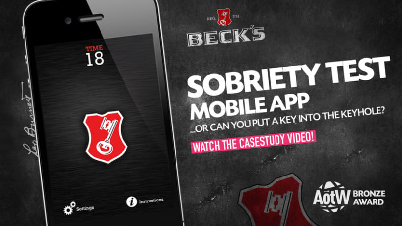 Beck's / Jelen Beer - Sobriety Test Mobile Apps 0