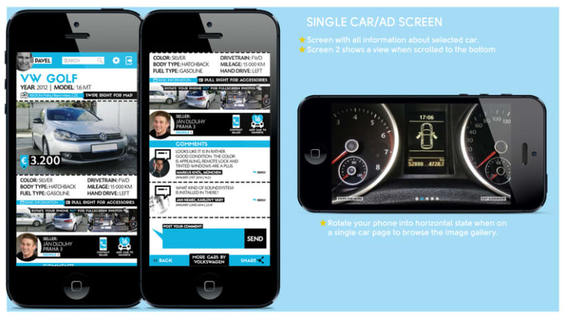 Used Car Seek / Mobile App Concept 3