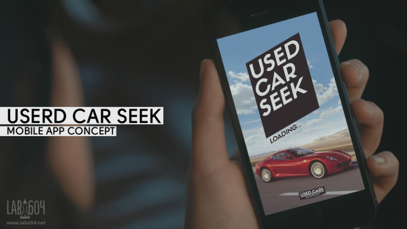 Used Car Seek / Mobile App Concept 0