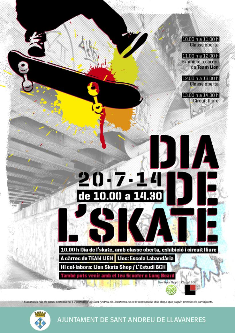 Jornadas Skate en Llavaneres 0