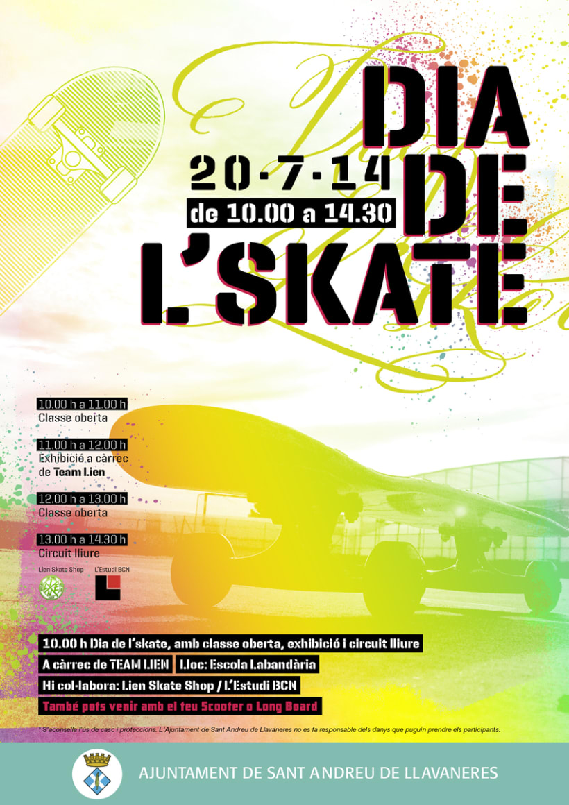 Jornadas Skate en Llavaneres 1