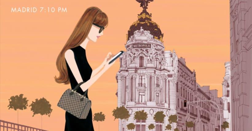 Louis Vuitton e-commerce / m-commerce campaign  10