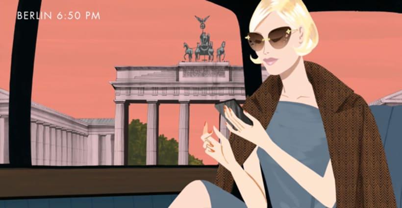 Louis Vuitton e-commerce / m-commerce campaign  11