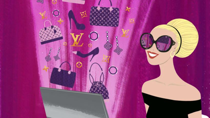 Louis Vuitton e-commerce / m-commerce campaign  13