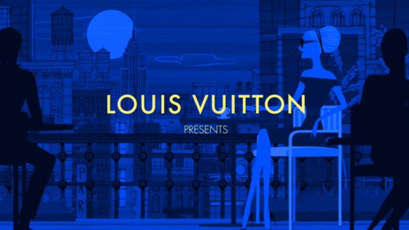 Louis Vuitton e-commerce / m-commerce campaign  6