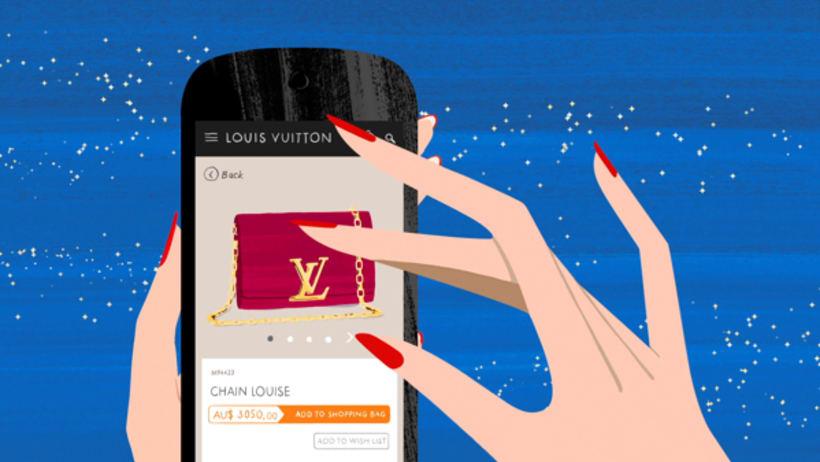 Louis Vuitton e-commerce / m-commerce campaign  12