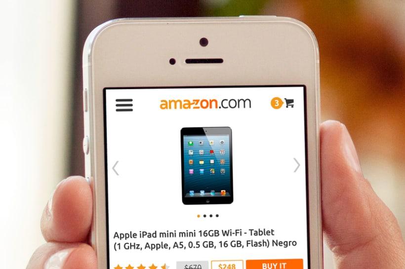 Amazon Redesign Concept 3