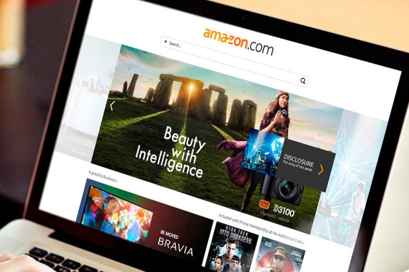 Amazon Redesign Concept 1