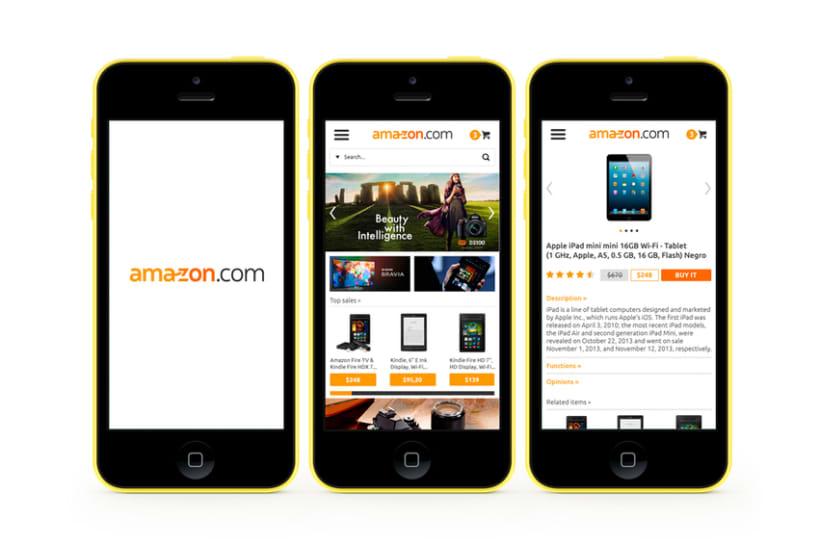 Amazon Redesign Concept 4