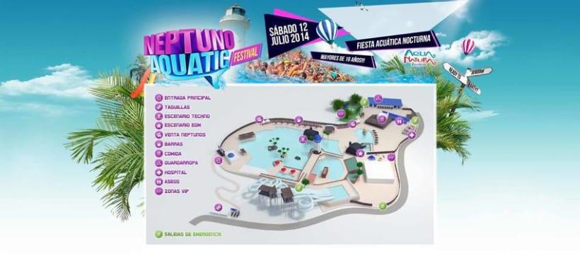 3D Map Neptuno Aquatic 0
