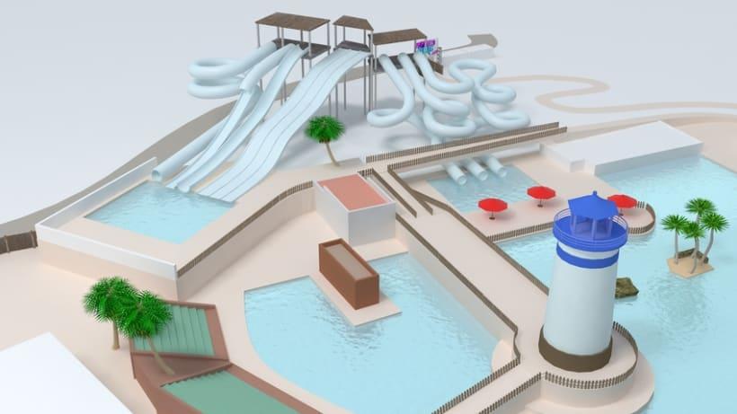 3D Map Neptuno Aquatic 1