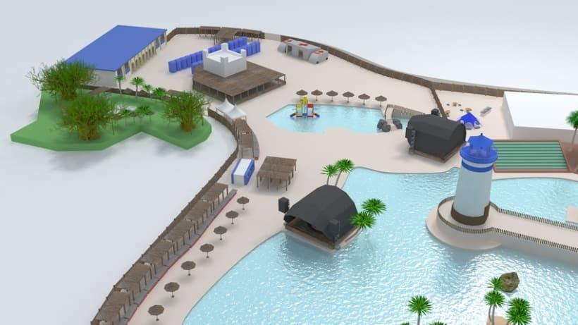 3D Map Neptuno Aquatic 2