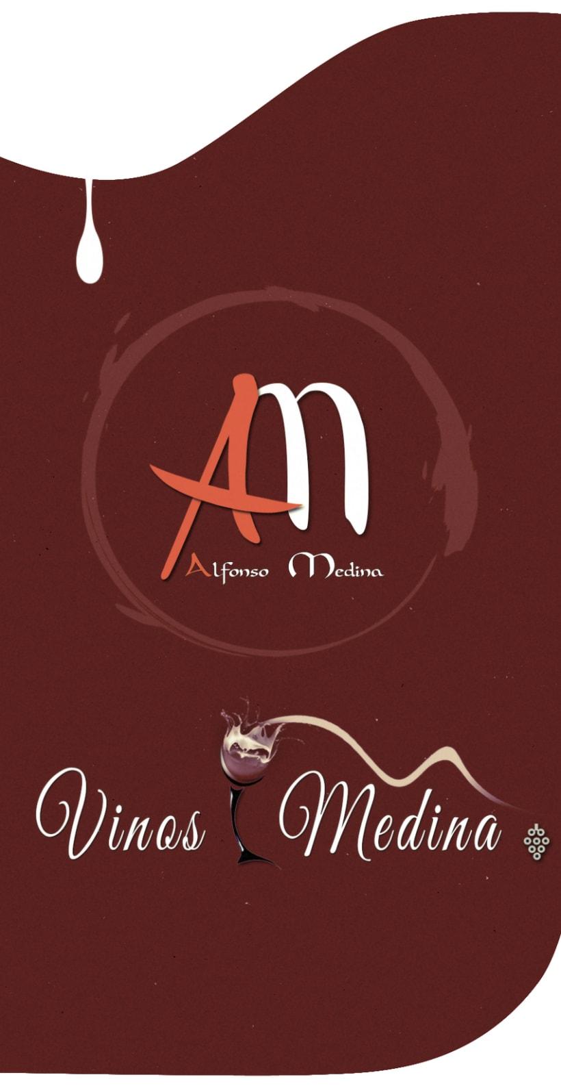 Vinos Medina - Logo Design -1