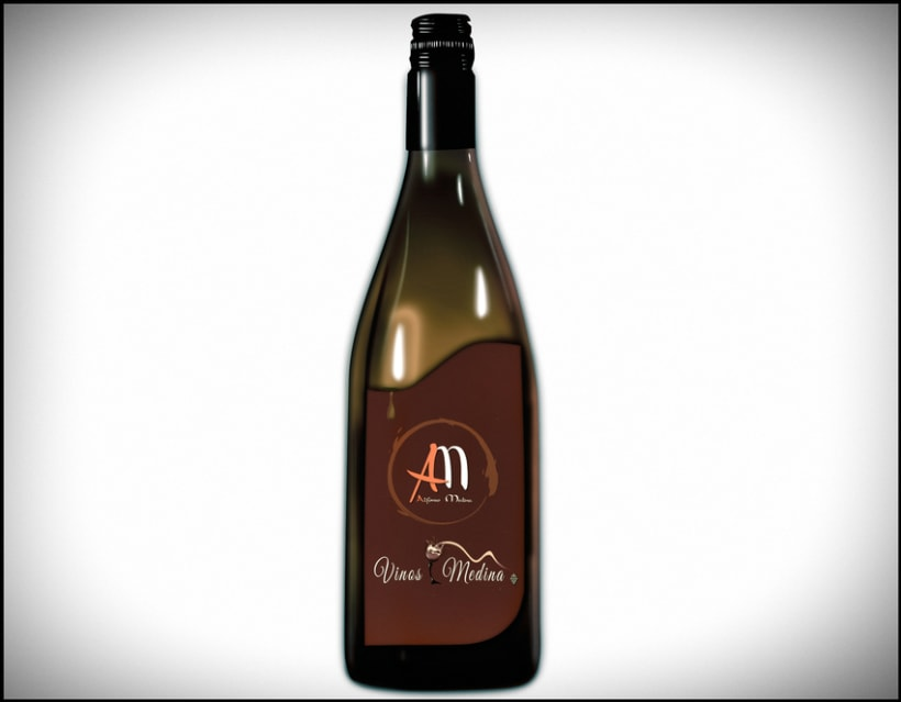 Vinos Medina - Logo Design 0