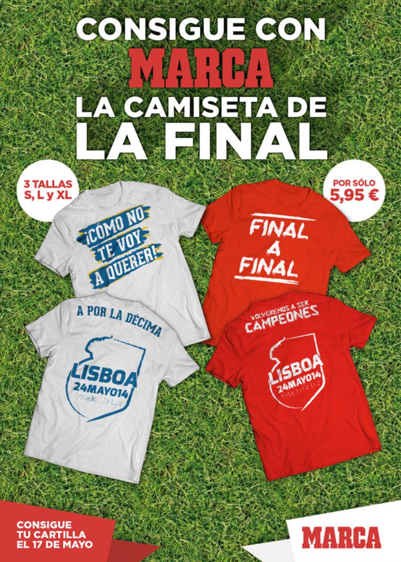 Camisetas Final Lisboa 2014 1