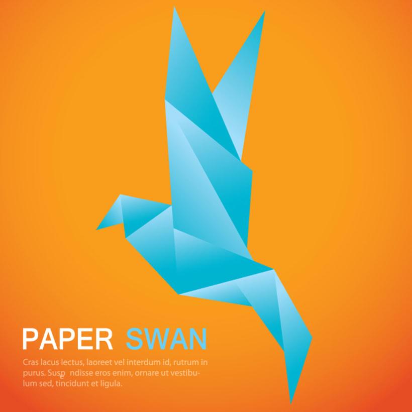 Origami Swan 1