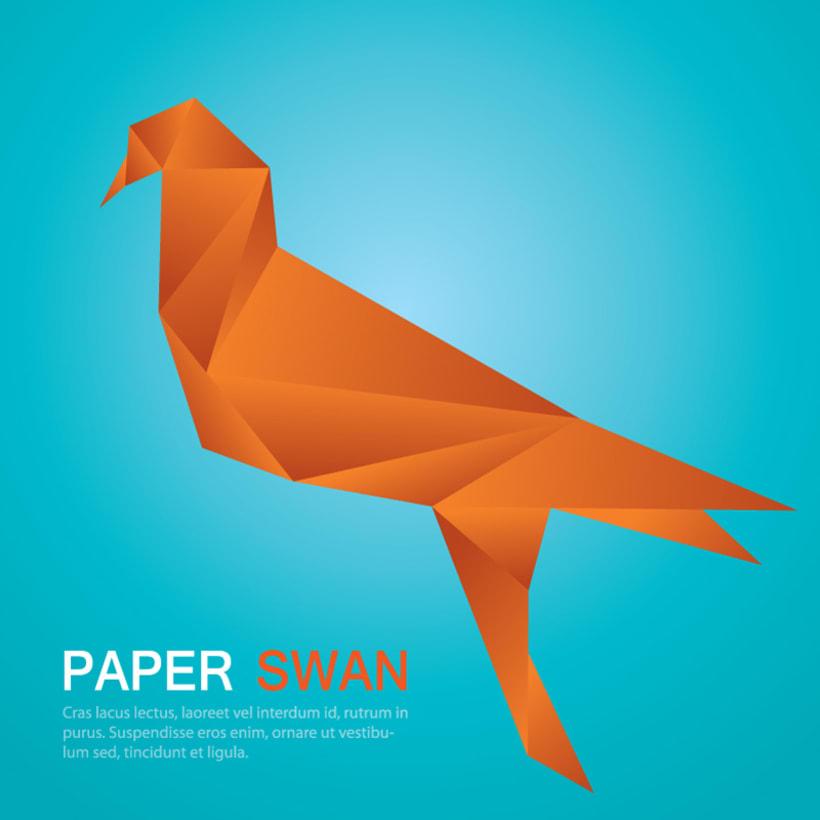 Origami Swan 2