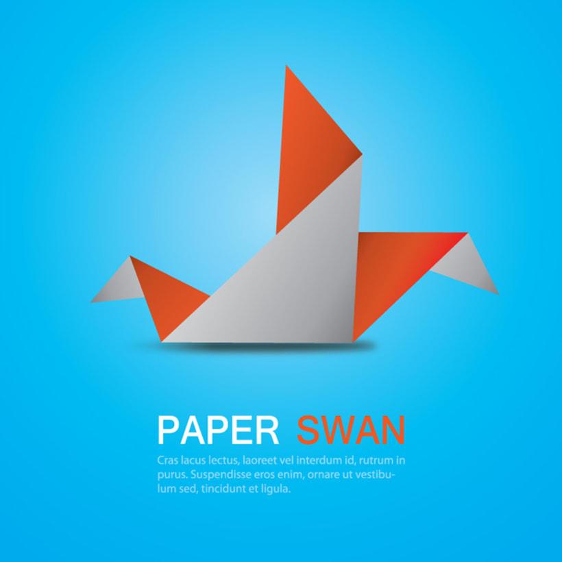Origami Swan 3