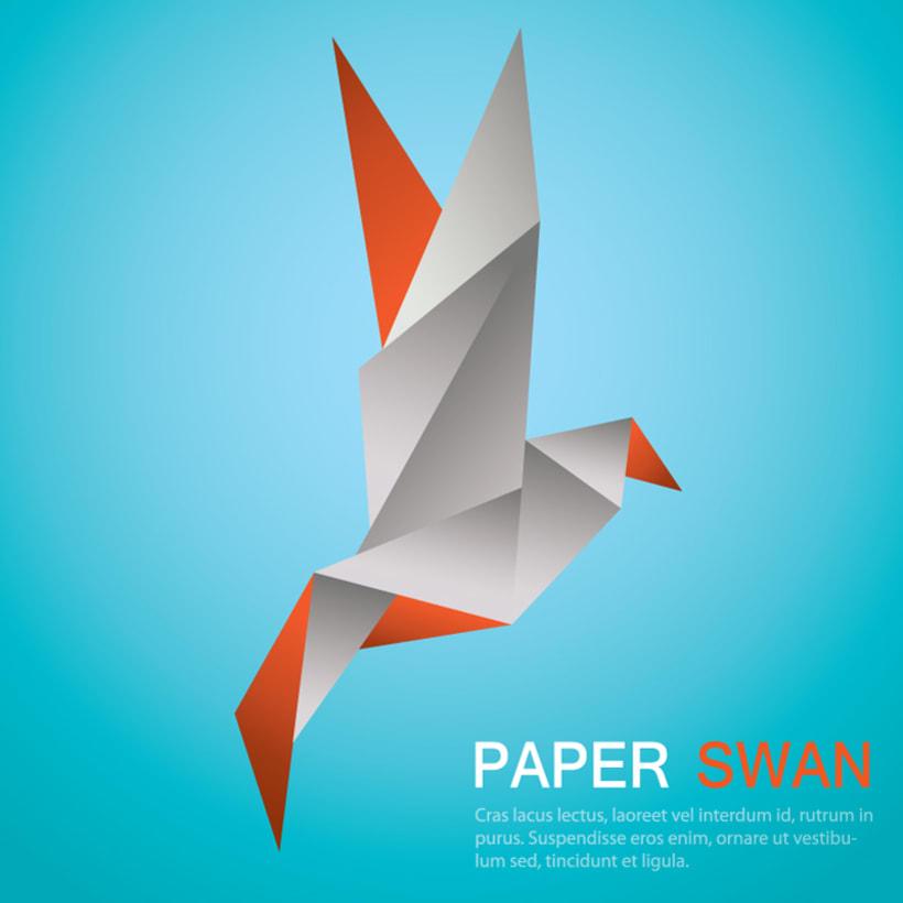 Origami Swan 4