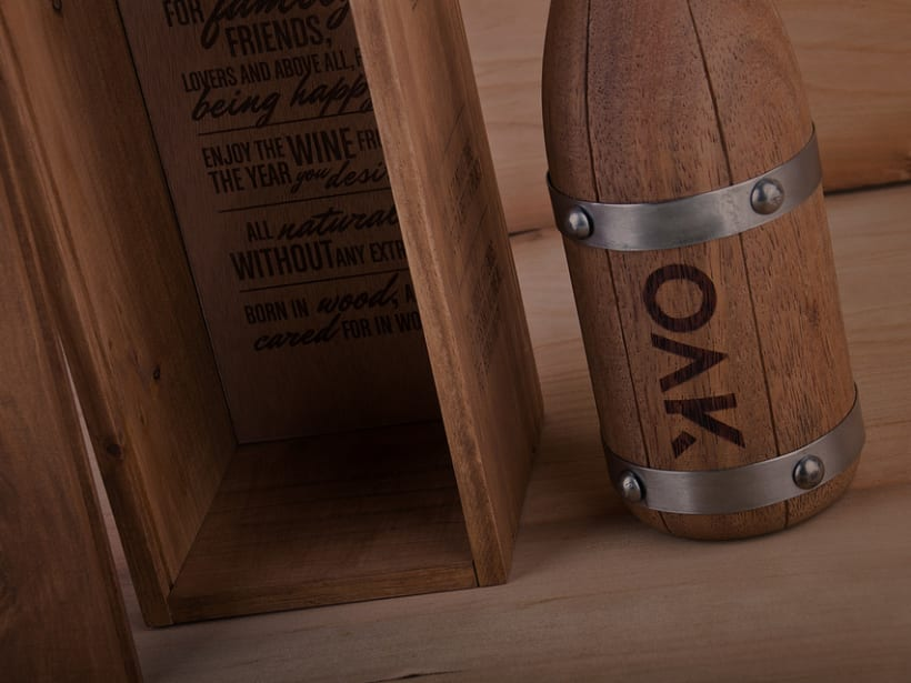 OAK wine | Packaging 6